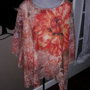 2pc womens sz XL Style & Co top, NEW